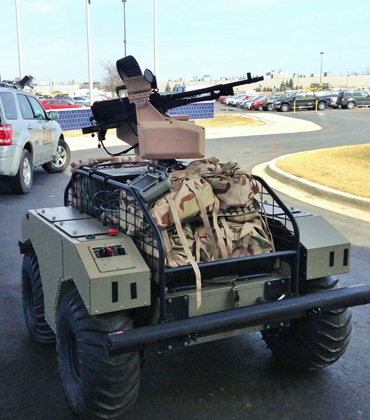 General Dynamics Mutt Vehicle Mounted Rows Precision