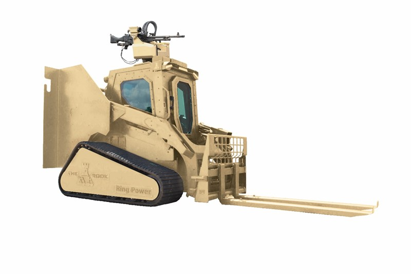 Rook Armored Vehicle Mounting The Precision Remotes
